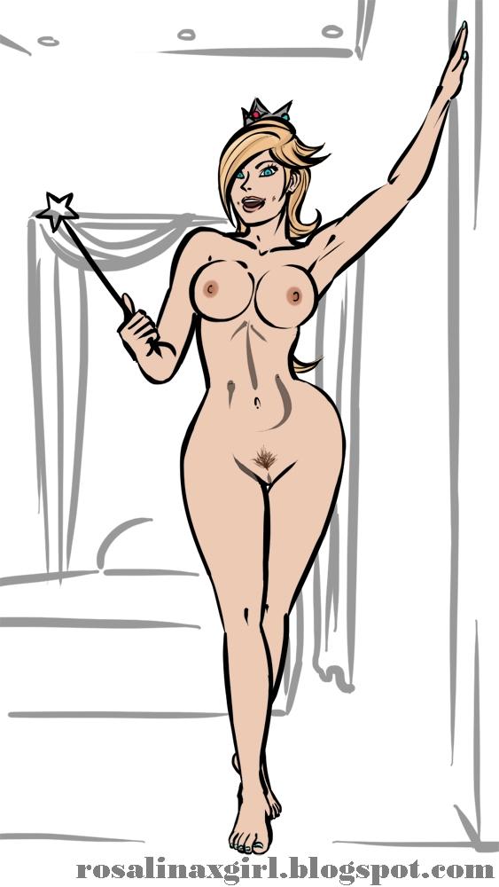 princess Rosalina nintendo hentai porn busty